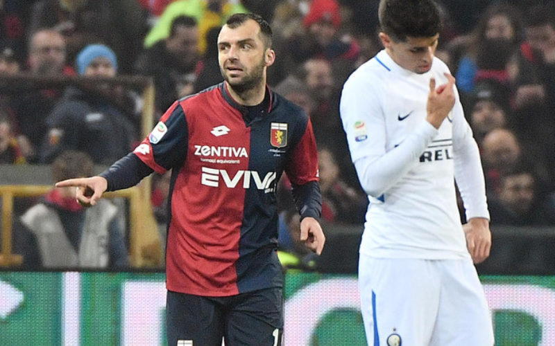GENOA BATTE INTER 2-0, NERAZZURRI IN CRISI