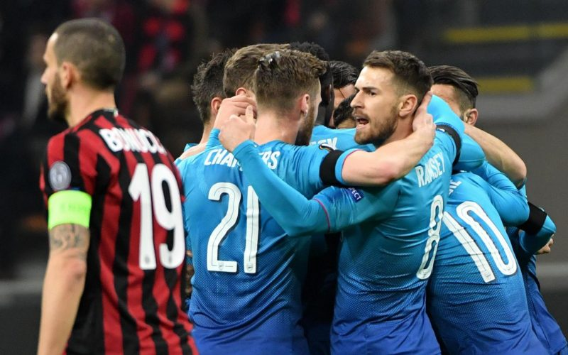EUROPA LEAGUE, MILAN SCONFITTO IN CASA DALL'ARSENAL