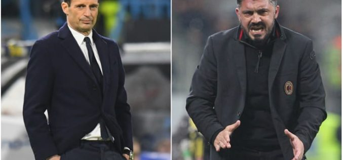 JUVENTUS-MILAN, TUTTO PRONTO PER IL BIG MATCH