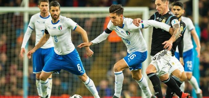 L'ITALIA NON RIPARTE: 2-0 IN FAVORE DELL'ARGENTINA