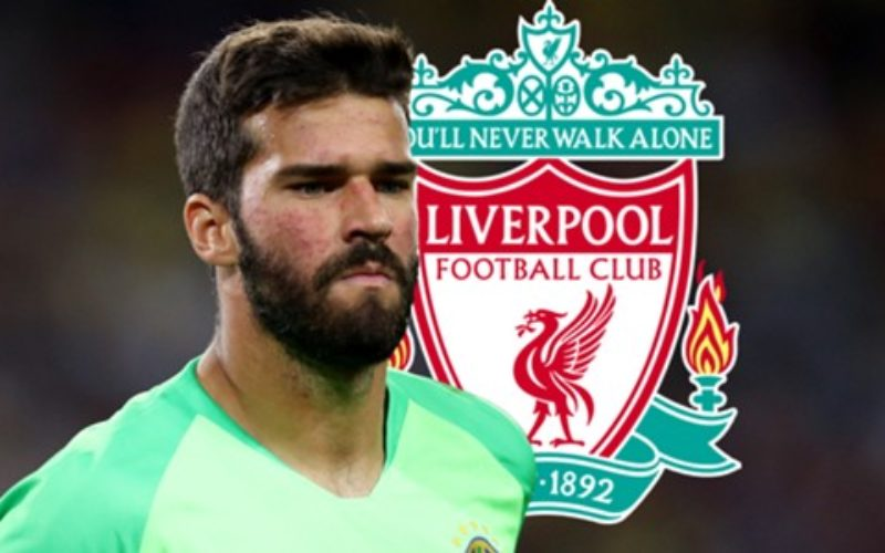 ALISSON AL LIVERPOOL: AFFARONE PER LA ROMA – ANTICIPATA DA CALCIOGOAL.IT