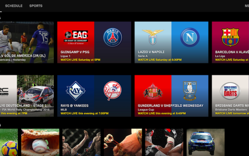 IL CALCIO IN STREAMING