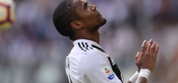 INCIDENTE STRADALE PER DOUGLAS COSTA