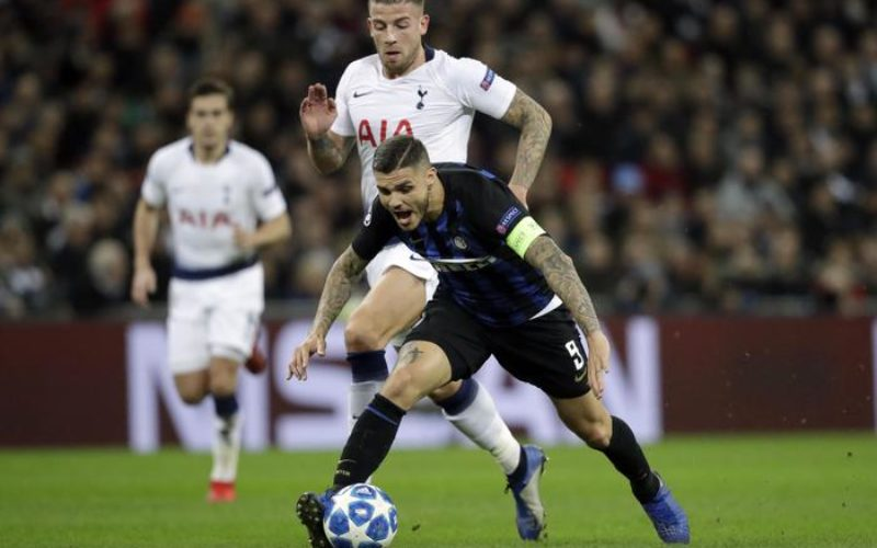 INTER SCONFITTA COL TOTTENHAM / RISULTATI E CLASSIFICHE GIRONI CHAMPIONS LEAGUE