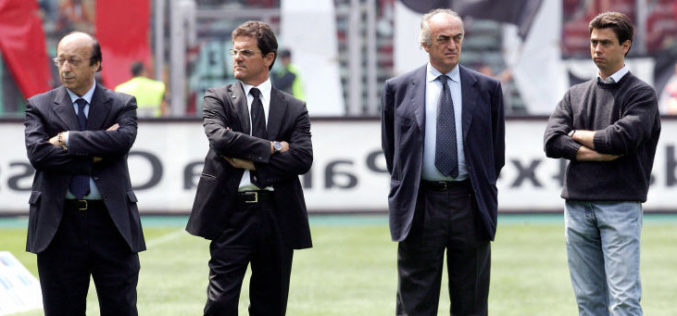 "FABIO CAPELLO:""UNA COMICA ASSEGNARE QUELLO SCUDETTO ALL'INTER"""