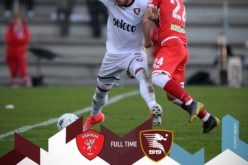 SALERNITANA CROLLO A PERUGIA