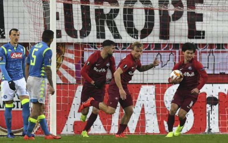 EUROPA LEAGUE; IL NAPOLI PERDE A SALISBURGO MA SI QUALIFICA, INTER ELIMINATA