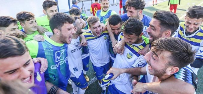 SCAFATESE-SAN VITO POSITANO, LA VITTORIA DEI CANARINI AL PLAY OUT /VIDEO