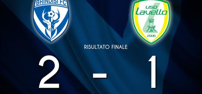 IL BRINDISI BATTE IL LAVELLO E VOLA IN FINALE CON L'AGROPOLI, SINTESI E INTERVISTE /VIDEO