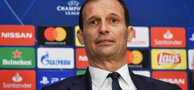 JUVENTUS: ALLEGRI SI COMMUOVE IN CONFERENZA STAMPA /VIDEO