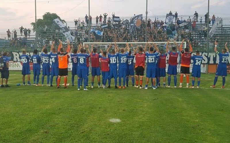 PAGANESE-MONOPOLI 2-0(VIDEO) DOPPIETTA DI SCHIAVINO