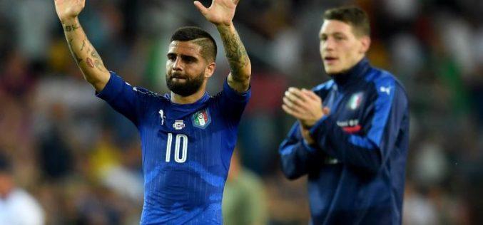 INGHILTERRA-ITALIA 1-1: IL RIGORE DI INSIGNE SALVA GLI AZZURRI NEL FINALE