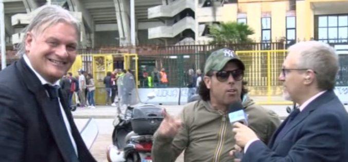 """AGROPOLI,L'EX DE CESARE: """"GESU' E' GRANDE VINCERÀ IL NOLA"""" / VIDEO"""