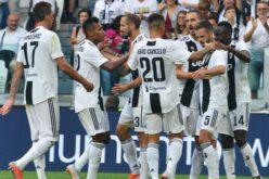 LA JUVENTUS BATTE LA LAZIO 2-0 IN GOAL PJANIC E MANDZUkIC