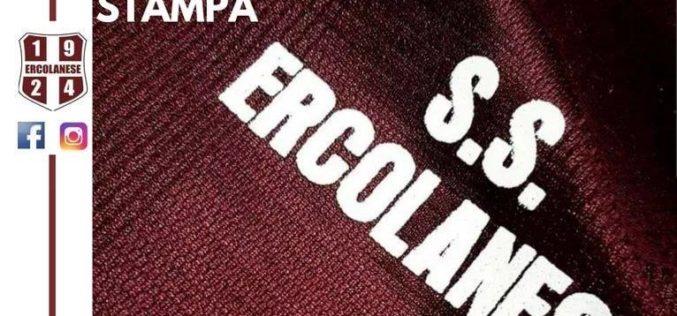 ERCOLANESE VIA MASCHIO IN PANCHINA PASQUALE BORRELLI