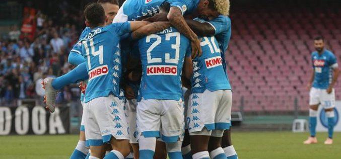 NAPOLI BATTE SASSUOLO 2-0: DECIDONO I GOL DI OUNAS E INSIGNE