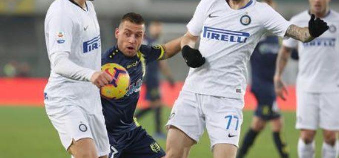IL CHIEVO FERMA L'INTER 1-1, PARMA E BOLOGNA A RETI BIANCHE