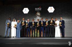Paratici, Ronaldo e Matuidi premiati ai Globe Soccer Awards