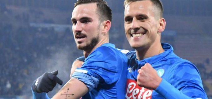IL NAPOLI SUPERA 2-0 IL SASSUOLO E ACCEDE AI QUARTI DI COPPA ITALIA
