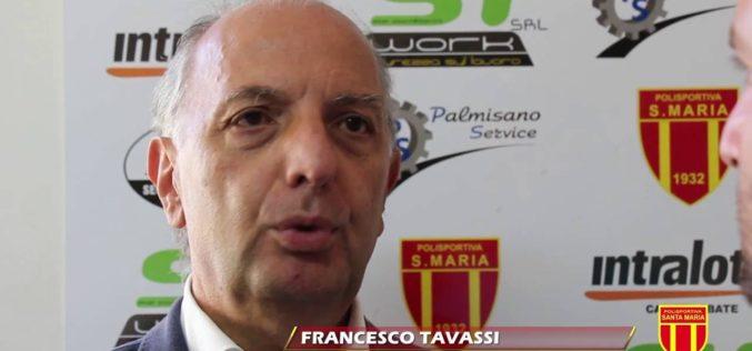 """SANTA MARIA,TAVASSI: """"NON SIAMO INTERESSATI AL TITOLO DELLA GELBISON"""""""