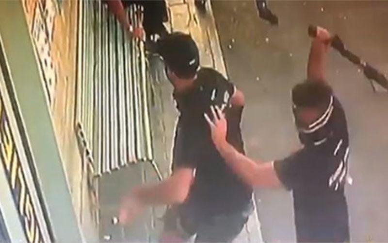 SERIE D SCONTRI NOCERINA FOGGIA SCATTANO I PRIMI 3 ARRESTI,FERITO IL VICE QUESTORE/VIDEO