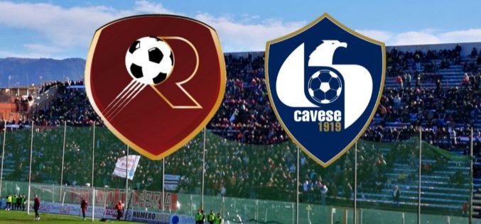 LA CAVESE CROLLA A REGGIO CALABRIA 5-1(VIDEO)