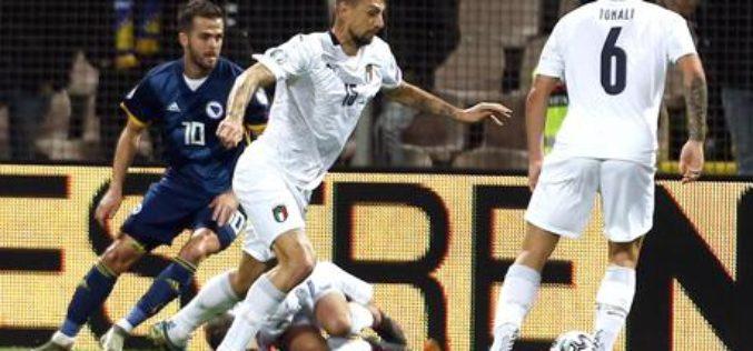 EURO 2020 L'ITALIA BATTE LA BOSNIA DI PJANIC E DZEKO  3-0