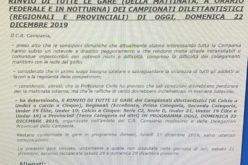 IN CAMPANIA IL MALTEMPO FERMA IL CALCIO