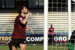 BENEVENTO-SALERNITANA,PARLA GUAZZO L'ULTIMO MATCH WINNER GRANATA A BENEVENTO