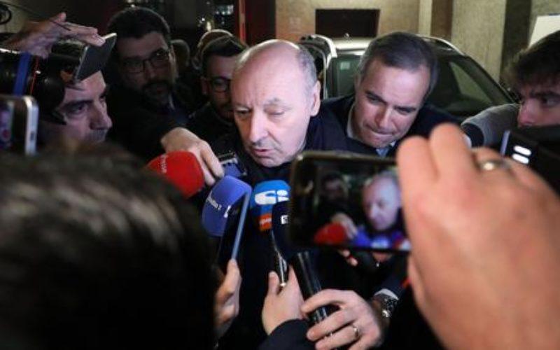 """L'INTER NON MOLLA VIDAL,MAROTTA: """"FIDUCIOSO PER I COLPI A FINE MESE"""""""