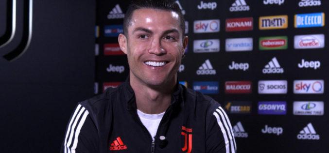 """RONALDO A SKY:""""GIOCO NEL MIGLIOR CLUB CHE C'E' IN ITALIA"""""""