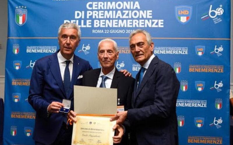CALCIO DILETTANTI IN LUTTO E' MORTO PAPPALARDO DA 52 ANNI PRESIDENTE DEL FAIANO