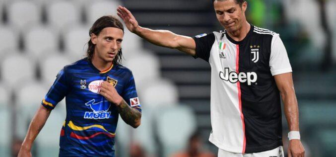 LA JUVENTUS BATTE IL LECCE 4-0,TUTTI I GOAL NELLA RIPRESA