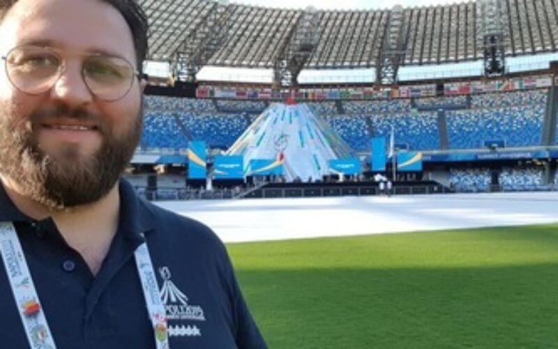 TUTTO IL CALCIO PIANGE FRANCESCO DE VIVO ADDETTO STAMPA DELLA PAGANESE